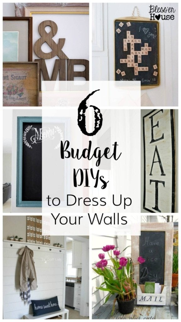 6 Budget DIYs to Dress Up Your Walls | Bless'er House