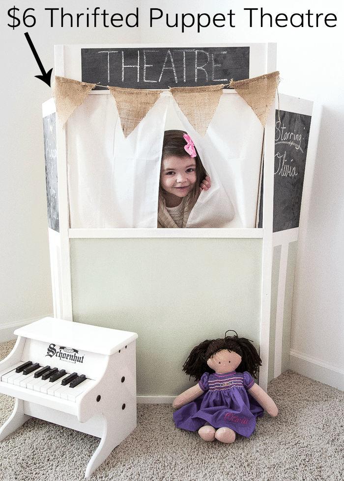 Santa Thrifting and Dollhouse Makeover | www.blesserhouse.com