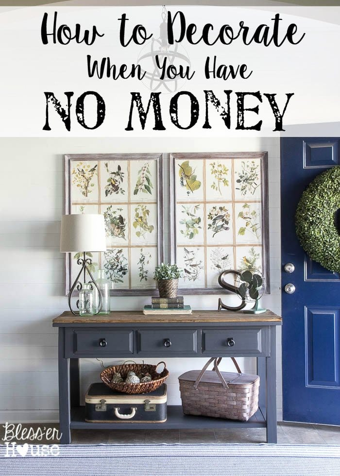How To Decorate A Home With No Money A Houseful Of  : How to Decorate When You Have No Money from www.amlibgroup.com size 700 x 980 jpeg 265kB