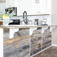 DIY Reclaimed Wood Bar