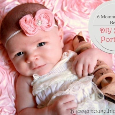 6 Tips for Better Mommy DIY Baby Portraits
