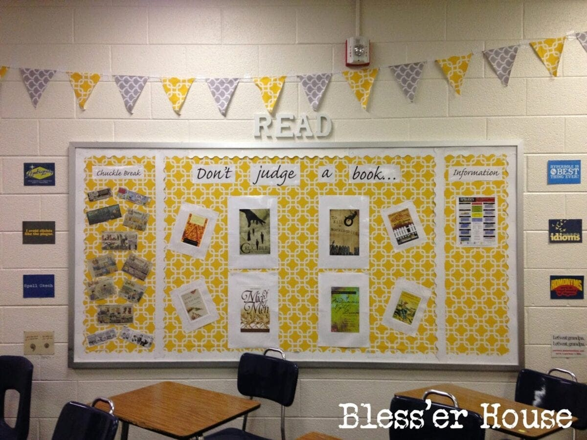 Creating the Cozy Classroom on a Budget - Bless\'er House