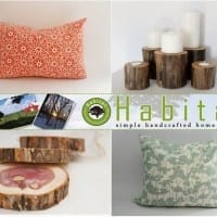 Monday Giveaway:  Habitat Handcrafted