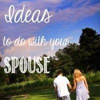 Wedding Week I: 50 Date Ideas