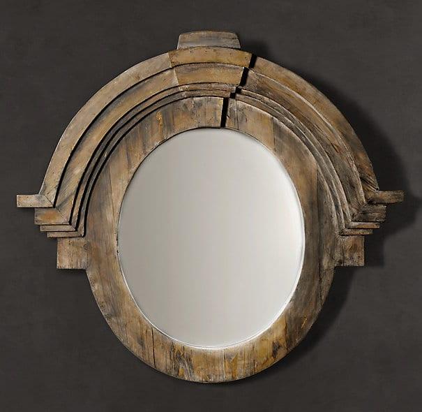 Restoration Hardware Mansard Mirror