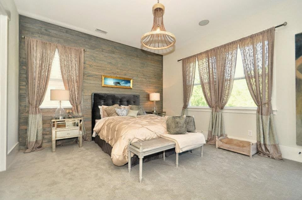 Rustic Glam Bedroom. Imperial. A Rustic Glam Bedroom Designed By ...