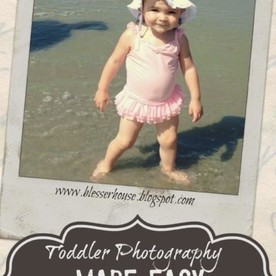 Toddler Photography Made Easy SmartPhone Trick