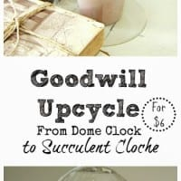 Goodwill Upcycle: That was a cloche one!