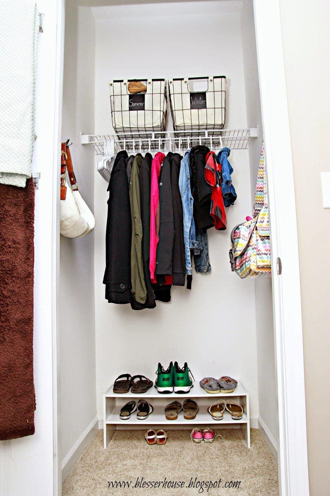 Organizing Skeletons In The Closet Bless Er House