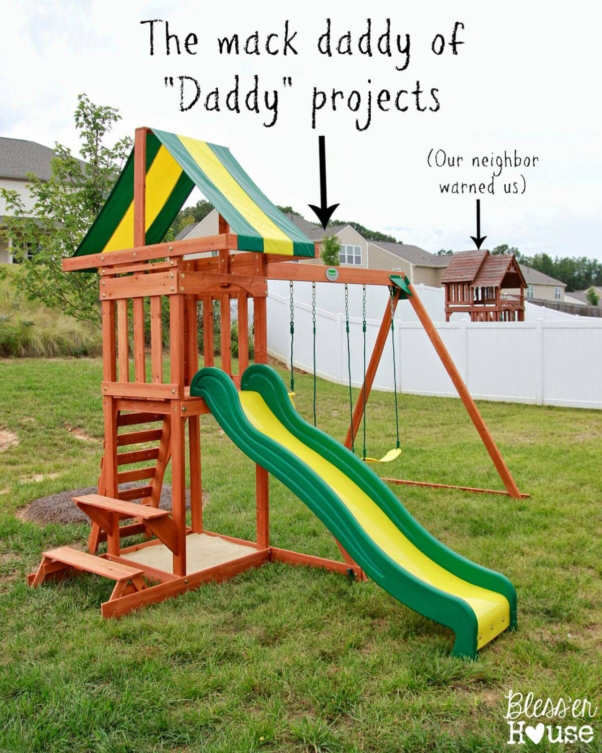"A Mack ""Daddy"" Backyard Project and Family Lovin'"