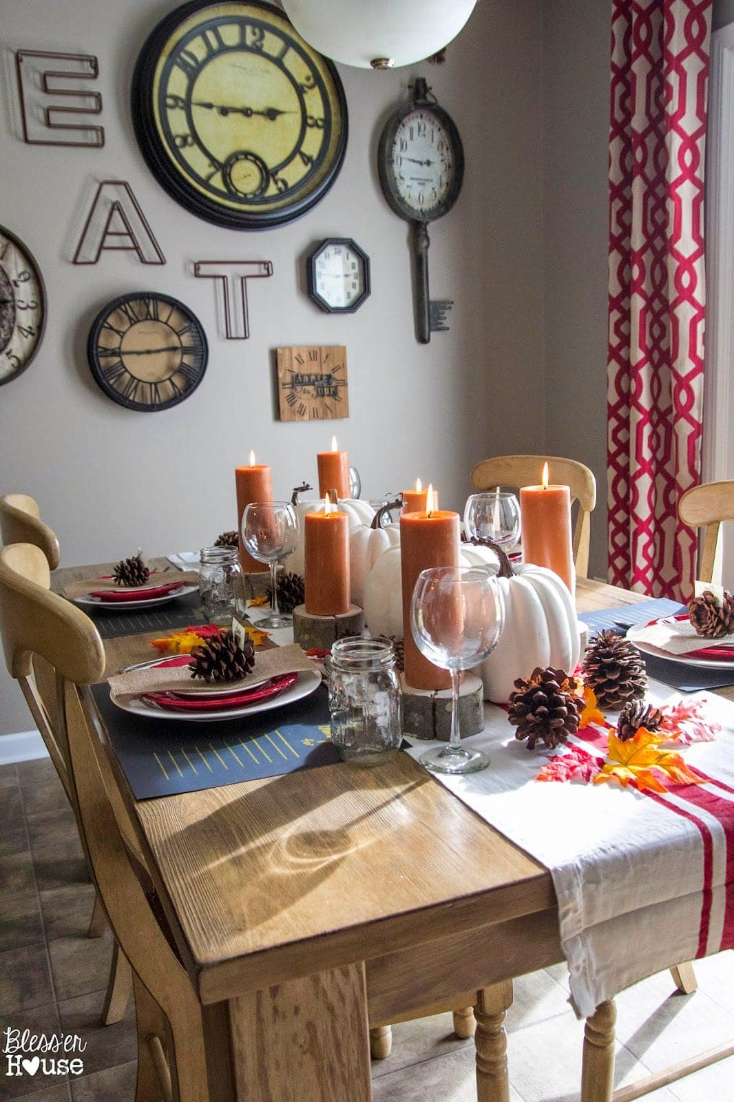 Bless'er House | Dollar Store Thanksgiving Tablescape