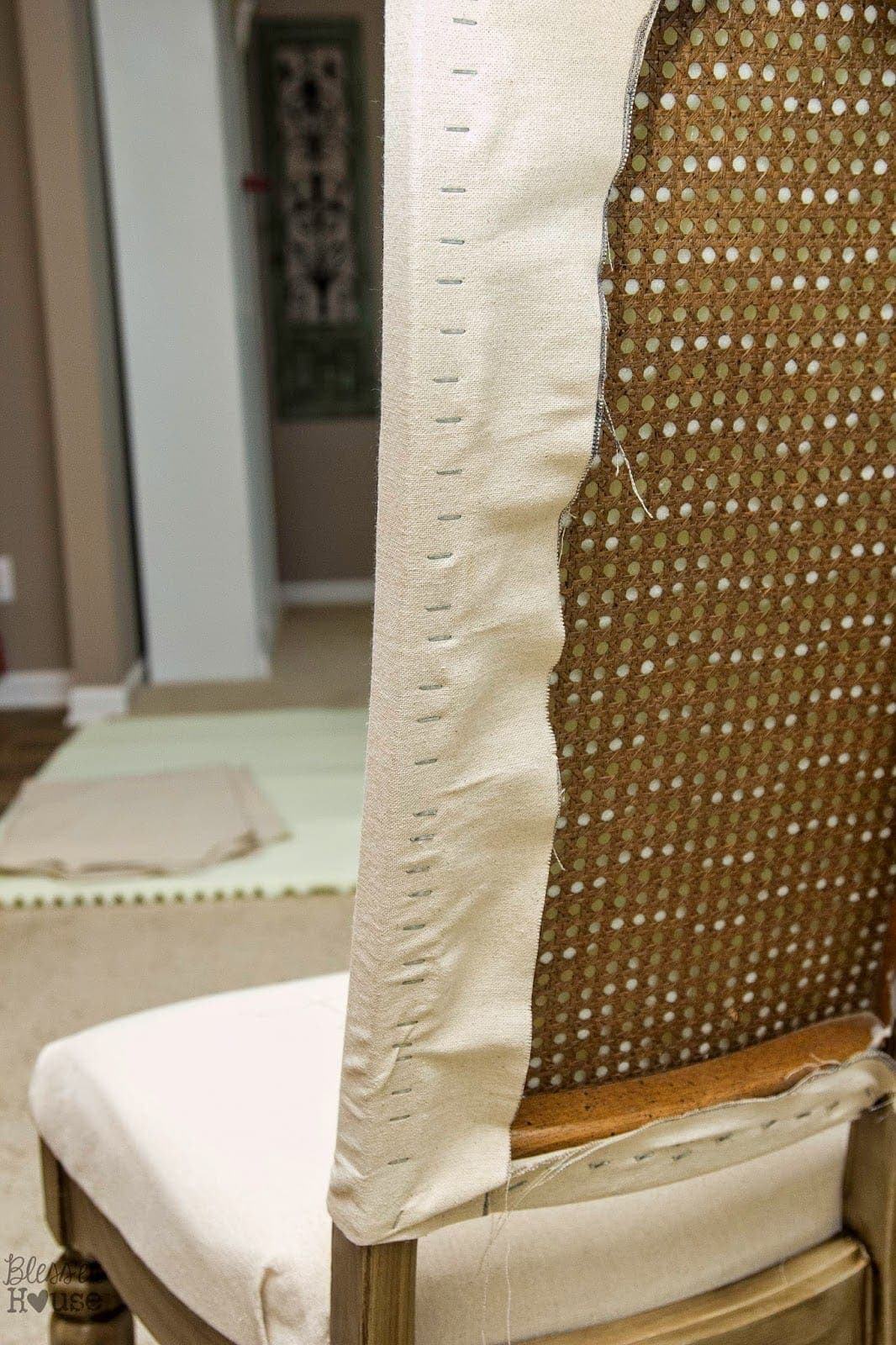 Bless'er House   Restoration Hardware Knock Off No Sew Dining Chairs
