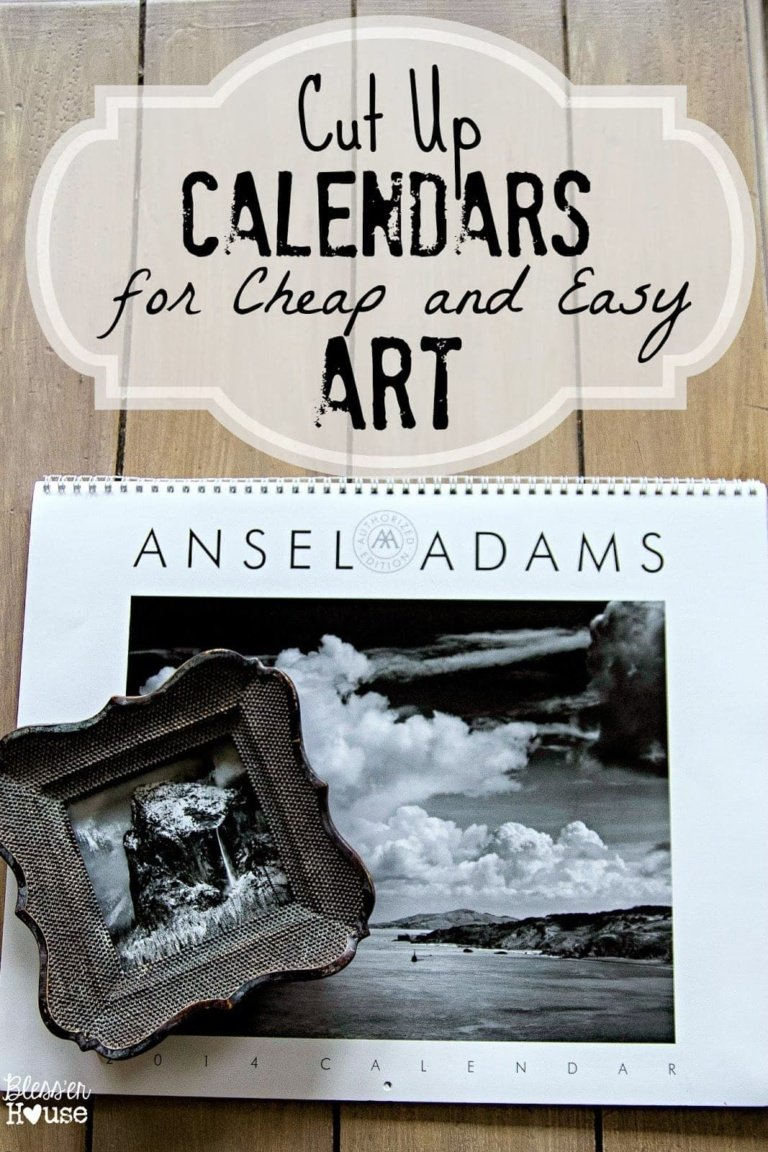 Thrifty Wall Art Tip and an Exciting Announcement!