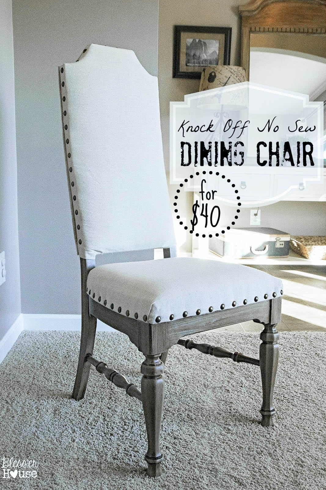 Strange Knock Off No Sew Dining Chairs Blesser House Inzonedesignstudio Interior Chair Design Inzonedesignstudiocom