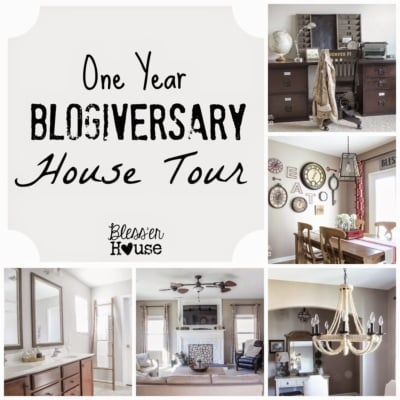 1 Year Blogiversary Progress House Tour