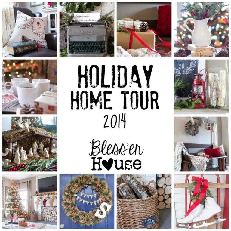 Holiday Home Tour 2014: A Cozy Eclectic Christmas
