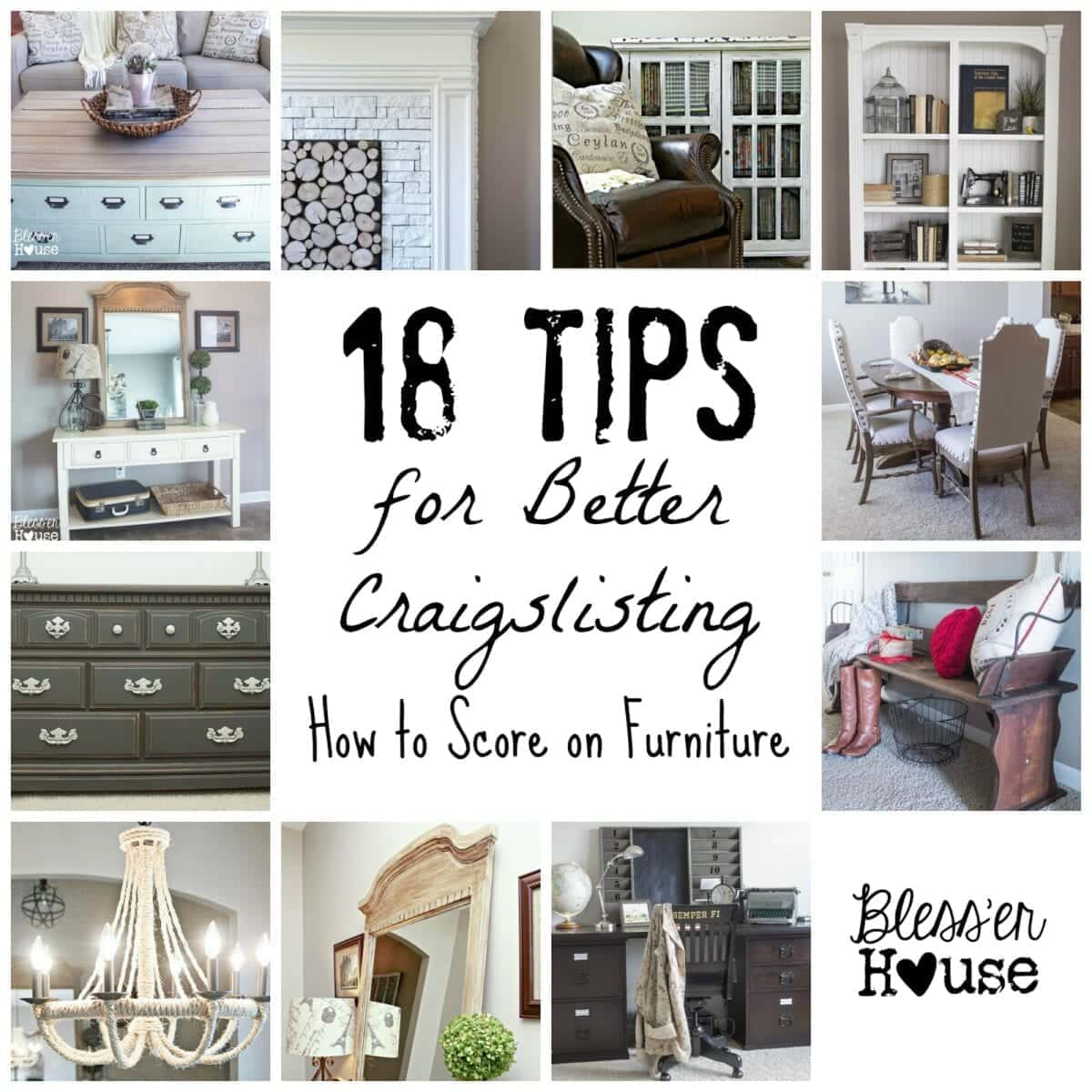18 Tips For Better Craigslisting How To Score On Furniture Bless