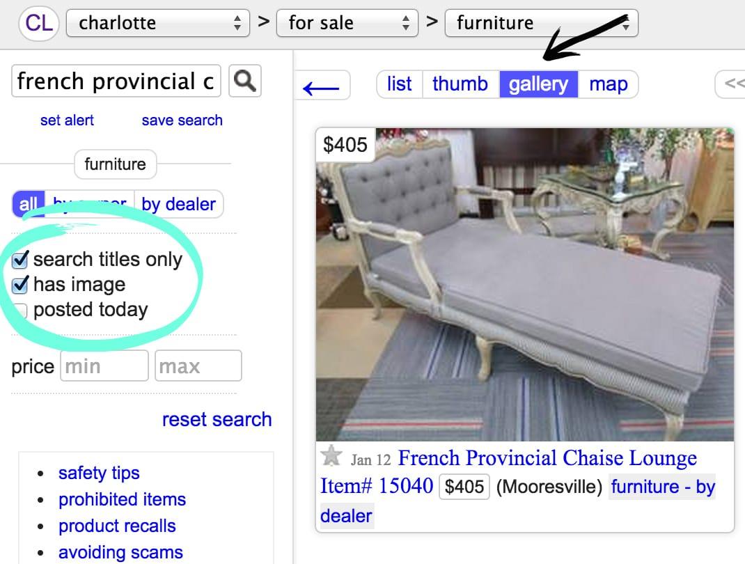 Bless'er House | 18 Tips for Better Craigslisting: How to Score on Furniture