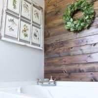 Walking the Plank: Master Bathroom Progress