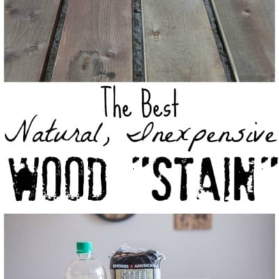 "The Most Natural, Inexpensive Way to ""Stain"" Wood"
