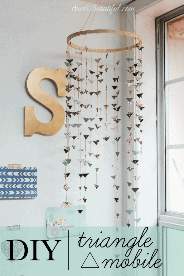 Diy Bohemian Chic Triangle Mobile Bless 39 Er House