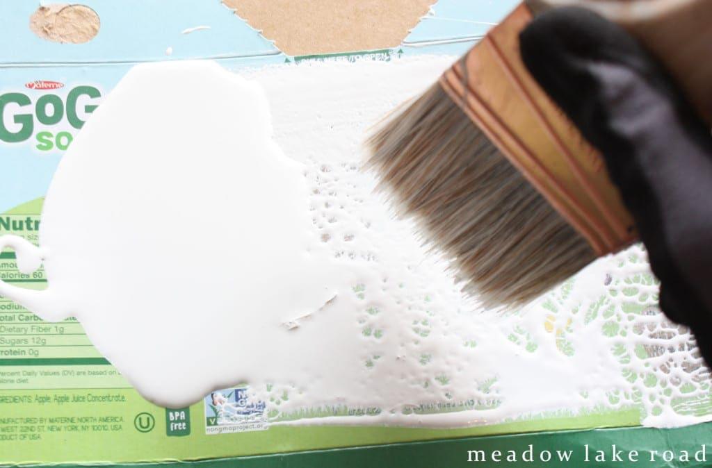 dry brush technique