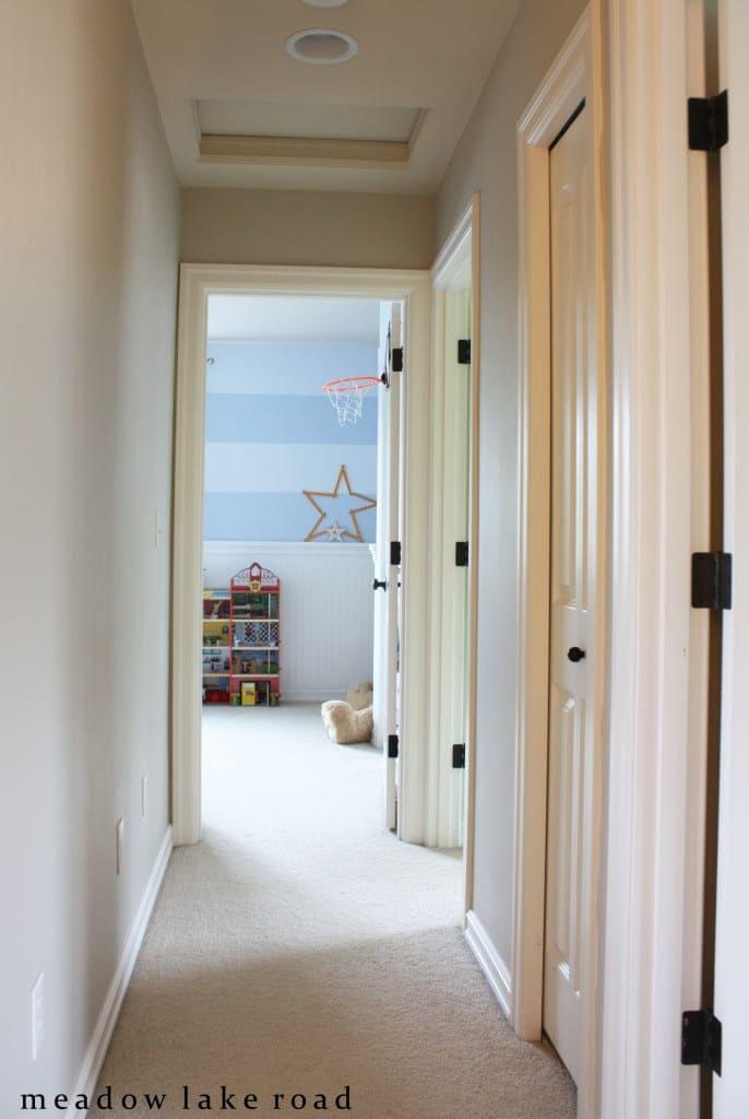 hallway before art