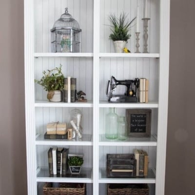 Restyling a Bookcase: Less is More