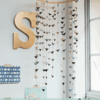 DIY Bohemian Chic Triangle Mobile