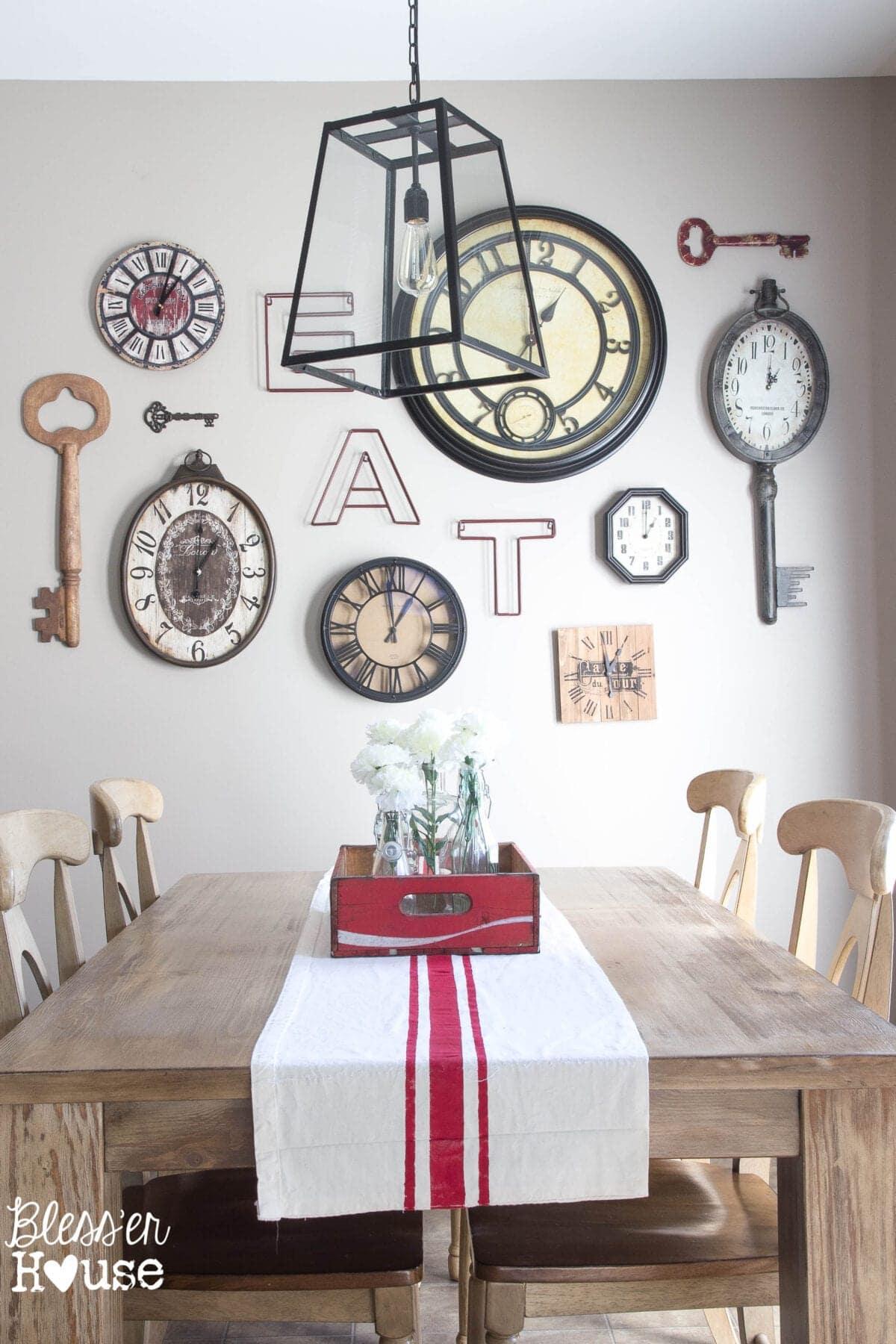 1 rustic industrial breakfast room 2 ways bless u0027er house