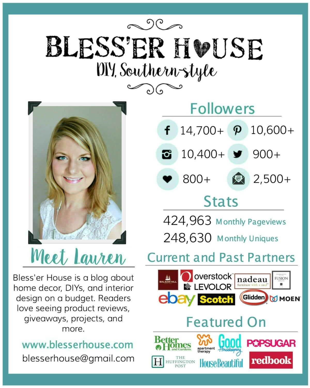 advertise - bless'er house