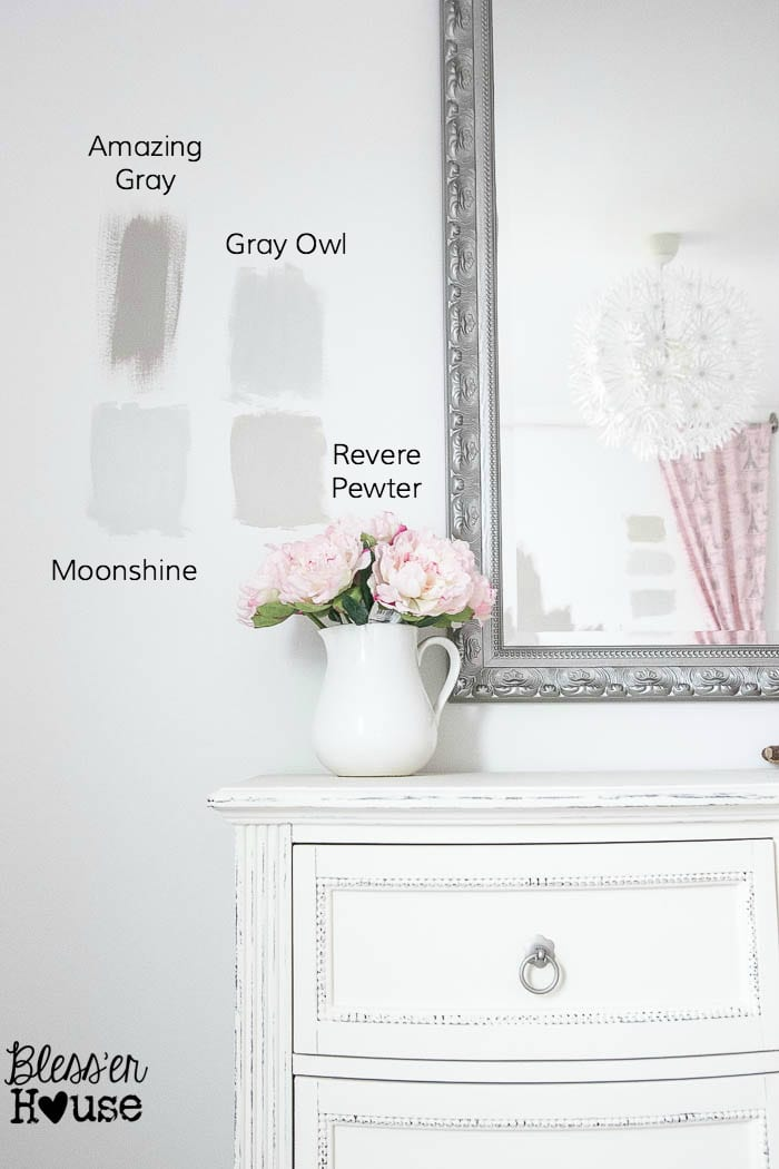 Choosing Gray Paint Colors
