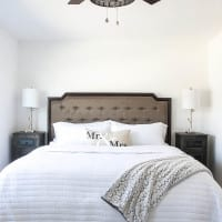 Master Bedroom Updates & Nadeau Furniture Browsing