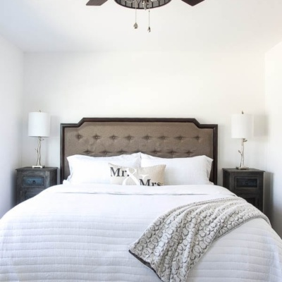 Master Bedroom Updates & Nadeau Furniture Browsing