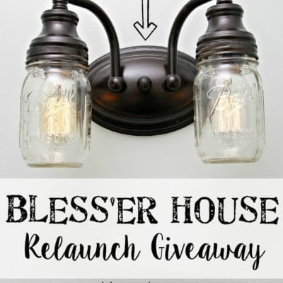 Welcome to the new look of Bless'er House & a Giveaway!