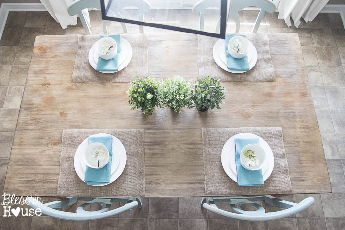 Rustic Industrial Breakfast Area Redo | Bless'er House