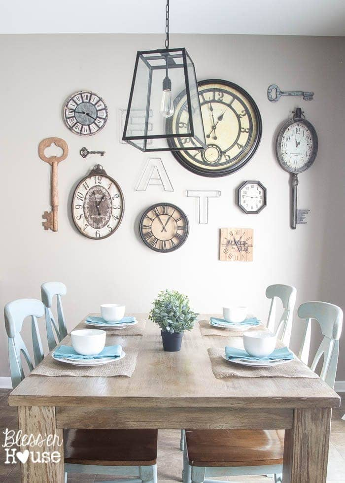 Rustic Industrial Breakfast Area Redo | Bless'er House