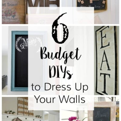 6 Budget DIYs to Dress Up Your Walls + YTTS #28