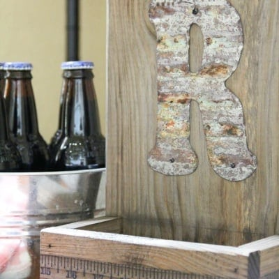 DIY Yardstick Bottle Opener