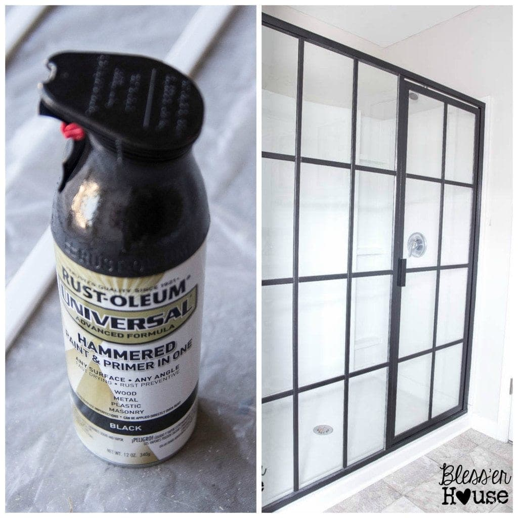 10 Must-Have Craft Supplies for Endless Money Saving Projects | Bless'er House- Give a shower an industrial look for under $60!