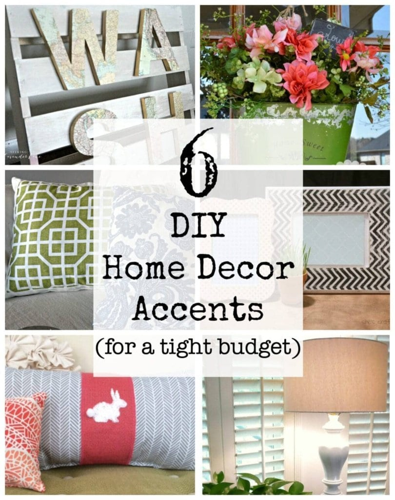 6 DIY Home Decor Accents for a Tight Budget | Bless'er House