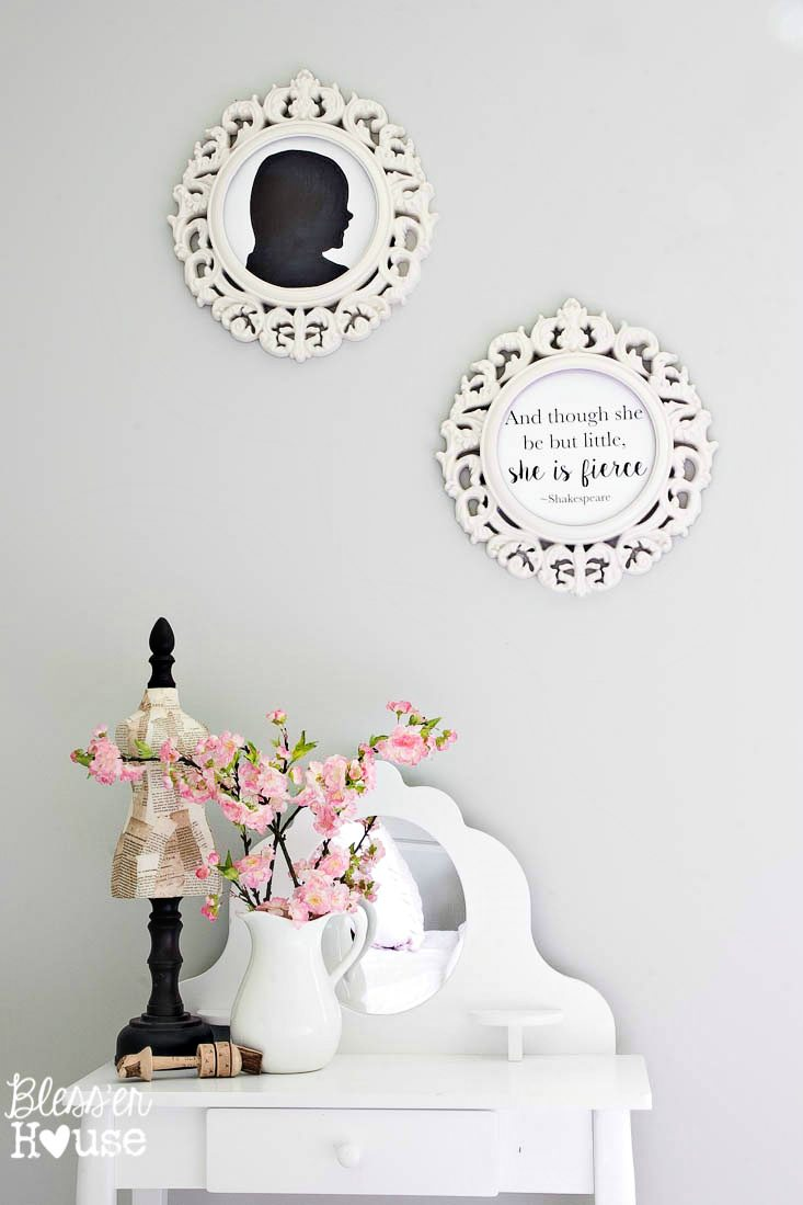 Silhouette Wall Art Diy Diy Silhouette Art And