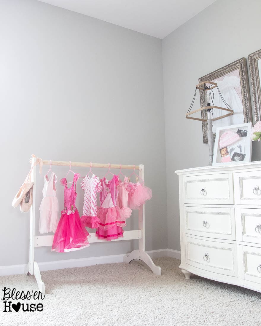 Diy Dress Up Rack Repurposed Bassinet Cradle Bless Er House This Is So