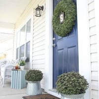 Freshened Up Spring Porch + Mother's Day Interview