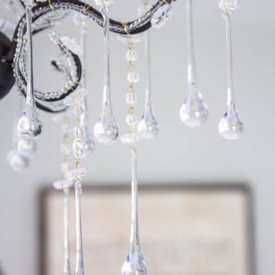 Hanging a Steal of a Chandelier