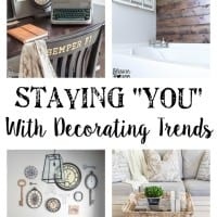 "Staying ""You"" With Decorating Trends"