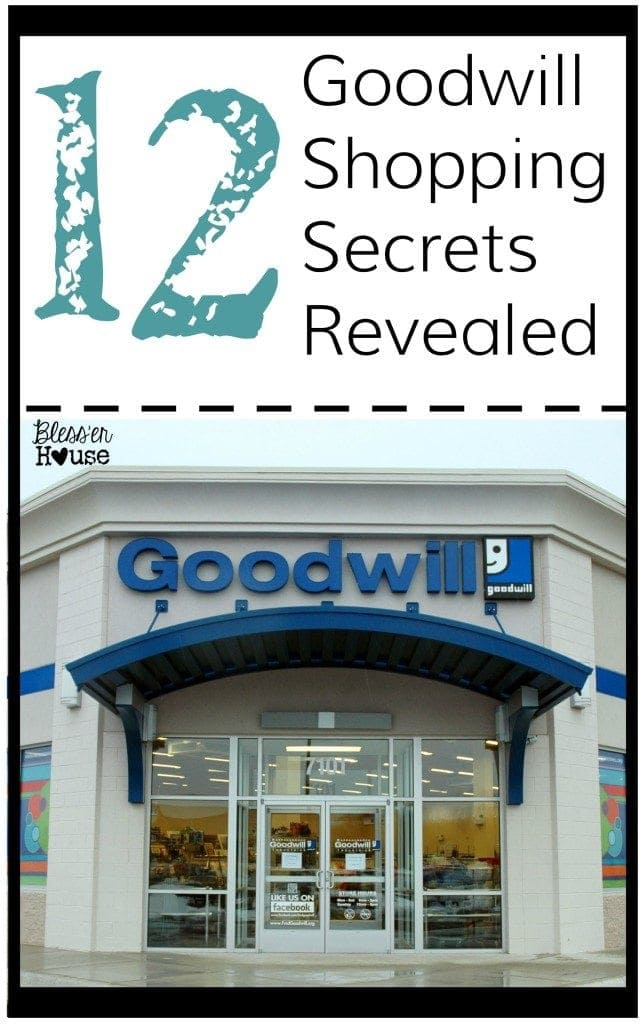c9cd2701a44d 12 Goodwill Shopping Secrets Revealed