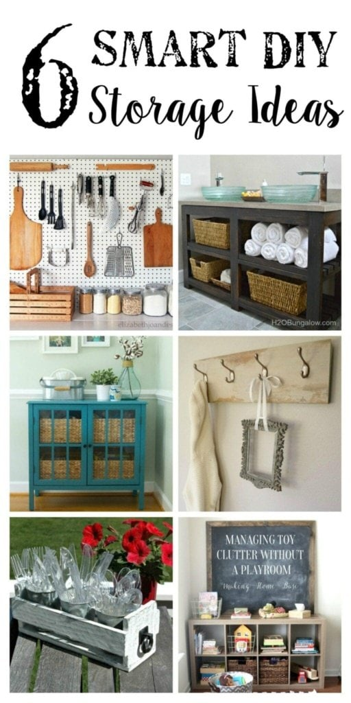 6 DIY Storage Ideas + YTTS #36   Bless'er House