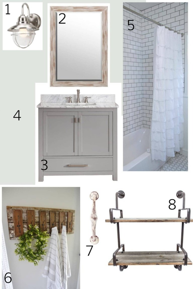 Drawing Up the Bathroom Plan