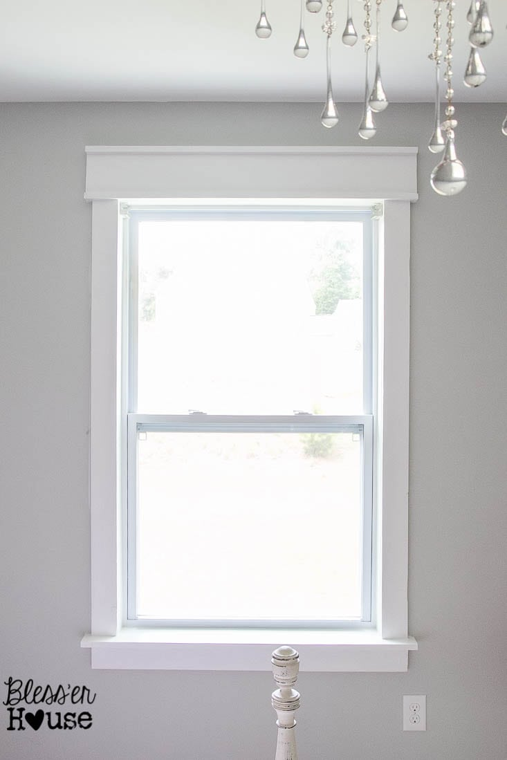 Craftsman window trim styles - Diy Window Trim The Easy Way Bless Er House I Want To